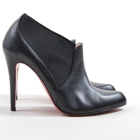 0f4385703a7 Christian Louboutin Shoes - Christian Louboutin Black Leather Booties